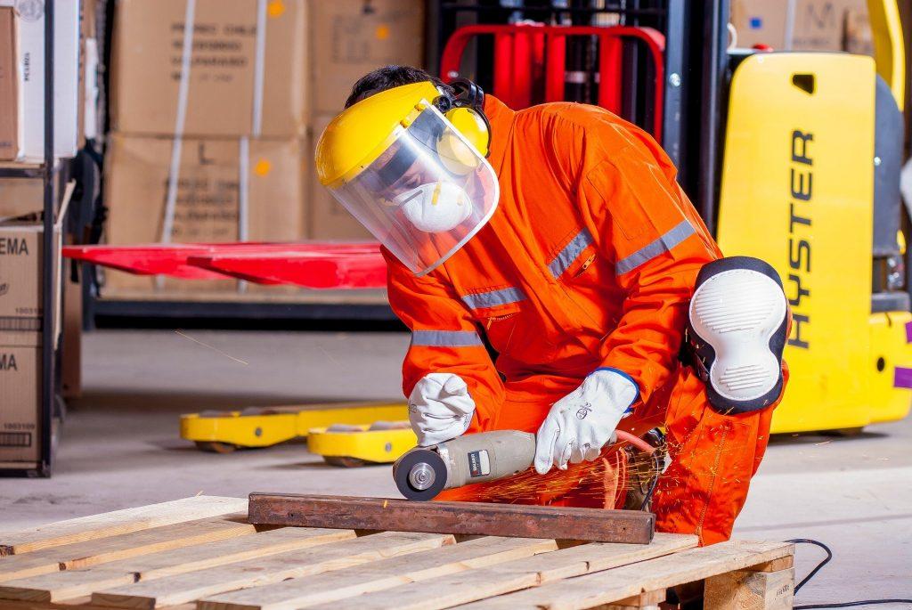 Industrie und  Stahlverarbeitung